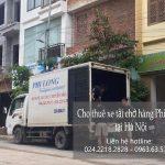 Dịch vụ taxi tải giá rẻ tại đường Phúc Lợi.