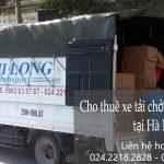 Dịch vụ cho thuê xe tải tại đường Xuân Đỗ