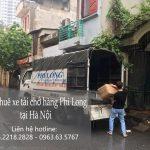 taxi tai gia re vận chuyển tại phố Ngọc Hà