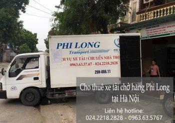 Cho thuê xe tải phố Hàng Hòm đi Hòa Bình