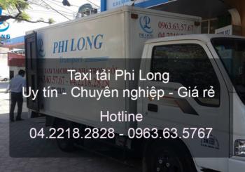 Dịch vụ taxi tải tại phố An Xá đi Hải Phòng