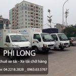 Cho thuê xe tải Phi Long phố Dã Tượng đi Quảng Ninh