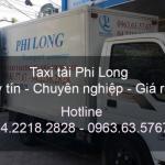 Cho thuê xe tải Phi Long tại đường Thạch Bàn đi Hải Phòng